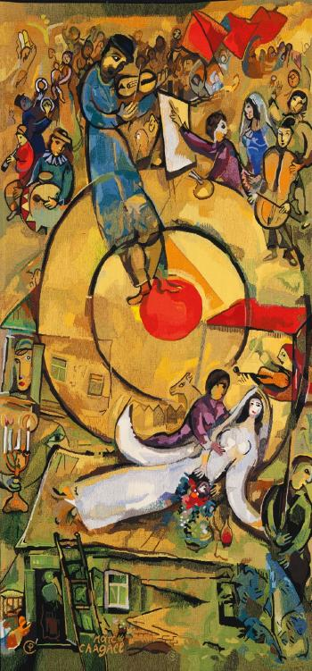 Chagall Liberation Tapestry