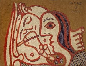 Appraisers would have a hard time with this Picasso tapestry which has sold for less than $40,000 at auction, but dealers price vastly higher