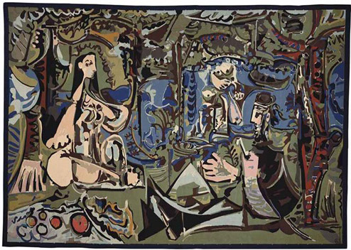 Picasso Durrbach tapestry